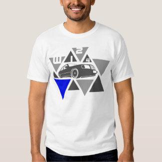 Dreieck-Auto - W124- Tshirts