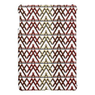 Dreieck-Azteke-Muster iPad Mini Hülle