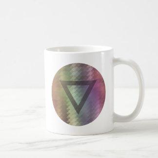 Dreieck Kaffeetasse
