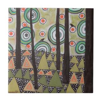 Dreieck-Landschaftsentwurf Keramikfliese