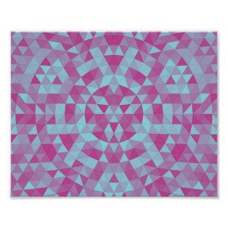Dreieck-Mandala 2 Fotodruck