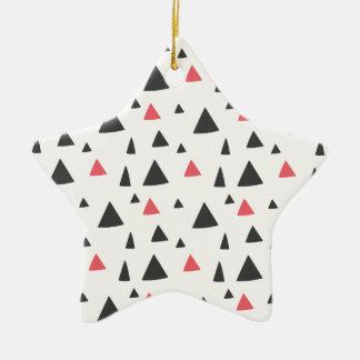 Dreieck-Muster Keramik Ornament