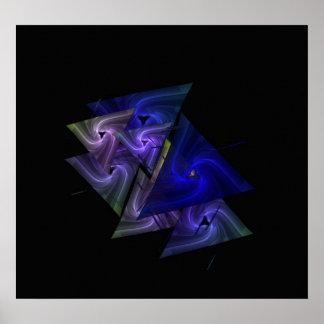 Dreieck Poster