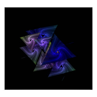 Dreieck Posterdruck