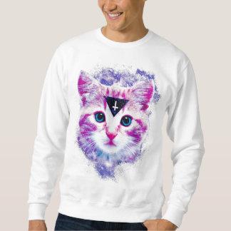 Dreieck-Raum-Kätzchen-Sweatshirt Sweatshirt