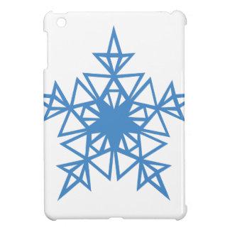 Dreieck-Schneeflocke iPad Mini Hülle