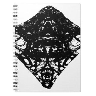 Dreieck Spiral Notizblock