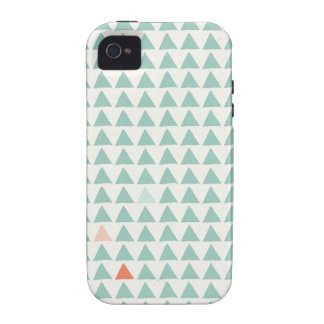 Dreieck-tadellose Mandarine iPhone 4 Cover