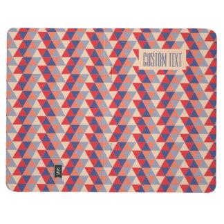 Dreieck Taschennotizbuch