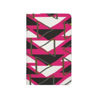 Dreiecke Taschennotizbuch