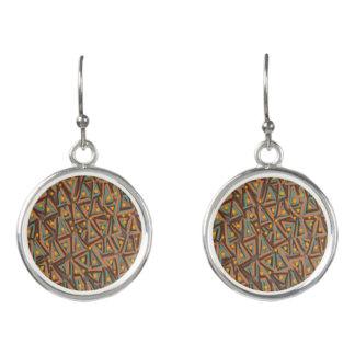 Dreiecke und Punkt-Mode-Ohrringe durch Julie Ohrringe