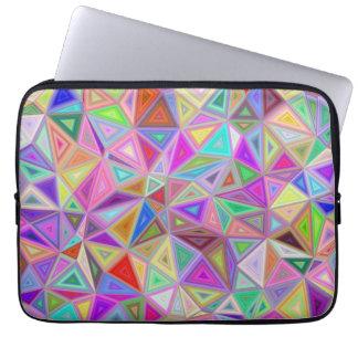 Dreieckiges Glück Laptopschutzhülle