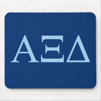 DreiecksLil des Alpha-XI großes Logo Mousepad