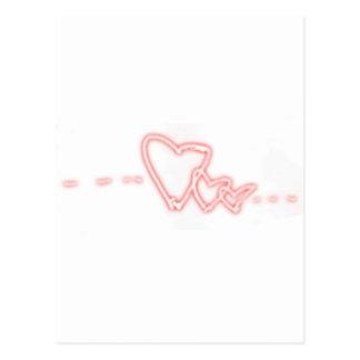 Dreiergruppe-Liebe Postkarte