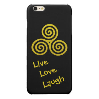 Dreifache Spirale LiveLiebe-Lachen-Gold