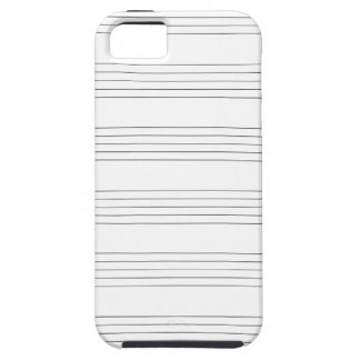 Dreifacher Clef-Dauben iPhone 5 Case