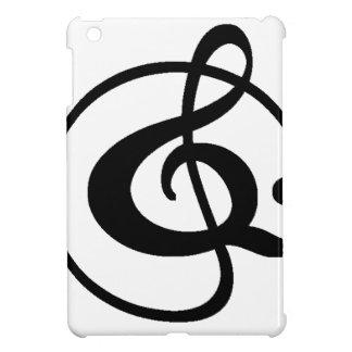 Dreifacher Clef iPad Mini Hülle