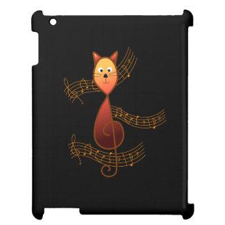 Dreifacher Clef-Katze iPad Hülle