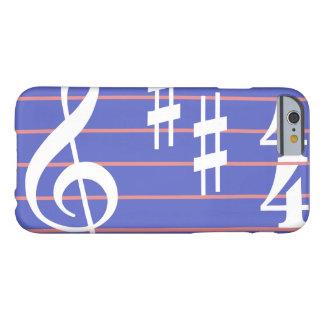 Dreifacher Clef-Telefon-Abdeckungs-Fall im Singrün Barely There iPhone 6 Hülle