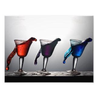 Dreifacher Cocktail-Fleck 2