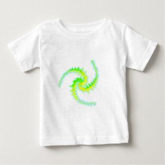 Dreifacher Julia-Set-Ernte-Kreis Baby T-shirt