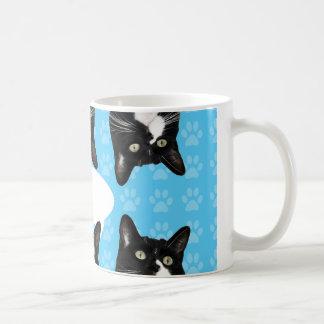 Dreifacher niedlicher Kitty Kaffeetasse