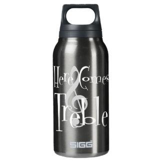 Dreifaches dunkles Sigg heiße u. kalte Flasche