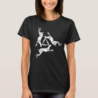 Dreifaches Hasen Triskele T-Shirt