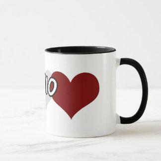 Dreifaches Herz Ohio Tasse
