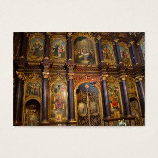 Dreifaltigkeit-griechisch-orthodoxe Kirche Jumbo-Visitenkarten