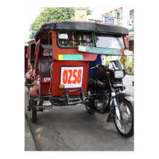Dreiräder Postkarte