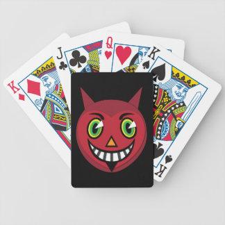 Dreißigerjahre Vintager Teufel-Spielkarten Bicycle Spielkarten