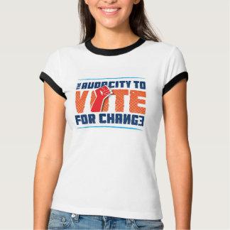 Dreistigkeit, zum für Änderungs-Wecker-T - Shirt