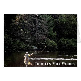Dreizehn Meilen-Holz Karte