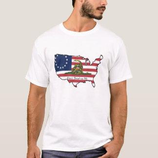 Dreizehn Sterne und eine Klapperschlange T-Shirt