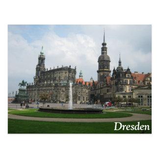 Dresden, Deutschland Postkarte