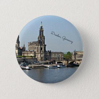 Dresden, Deutschland-Stadtbild Runder Button 5,1 Cm