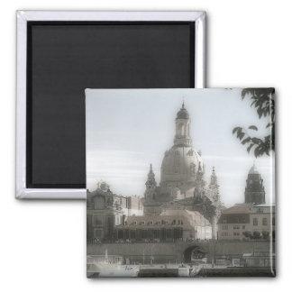 Dresden Frauenkirche/Kirche unserer Dame Quadratischer Magnet