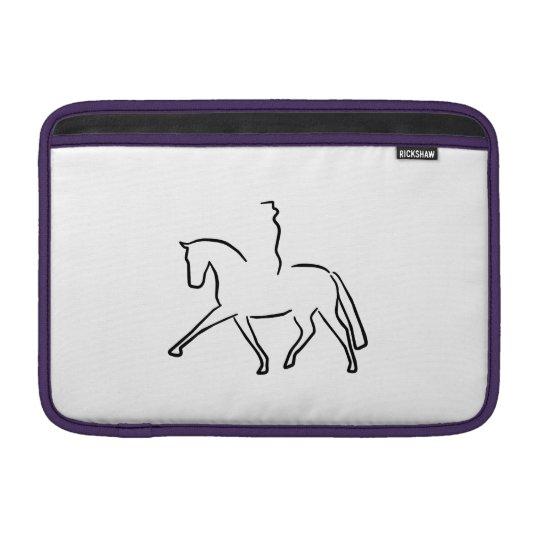 dressage horse MacBook sleeve