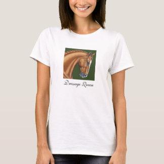Dressage-Königin-Shirt T-Shirt