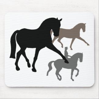 Dressage-Pferdetrio Mousepad
