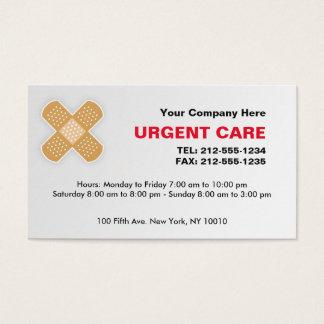 Dringende Sorgfalt-KUNDENGERECHTE Visitenkarte