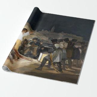 Drittel Francisco de Goya The vom Mai 1808 Geschenkpapier