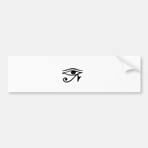 Drittes Auge ~ Auge von Horus Auto Aufkleber