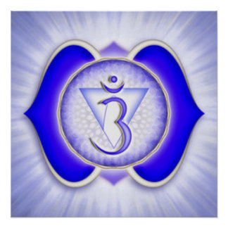 Drittes Auge Chakra Poster