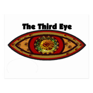 Drittes Auge durch Manda Postkarte