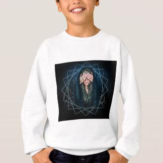 Drittes Augen-Augen-geistiges Intuitions-Symbol Sweatshirt