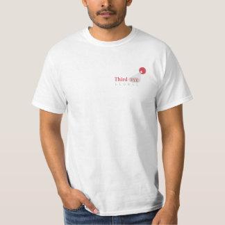 Drittes Augen-globaler Logo-Wert-T - Shirt