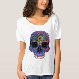 Drittes Augen-psychedelischer Schädel - T - Shirt