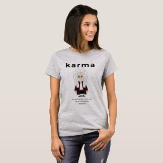 Drittes Gesetz 2018 des Karmas u. Newtons T-Shirt